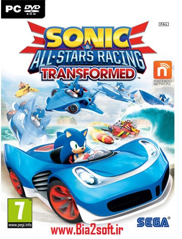 دانلود بازی Sonic and All Stars Racing Transformed برای PC